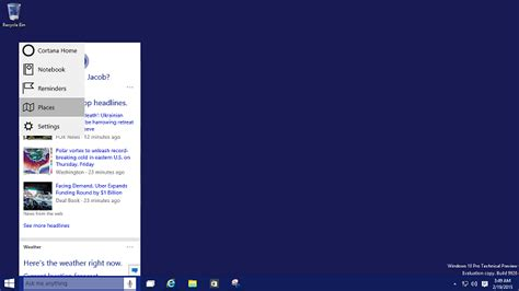 tutorial windows 10 pro how to activate cortana windows 10 windows10pro net