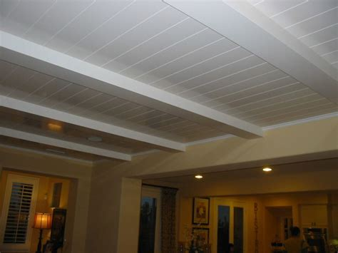 White Wood Ceiling Planks white wood ceiling planks that s what she shed