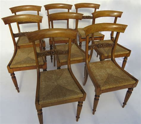 Set Of Ten Antique Empire Dining Chairs From Blacktulip On Empire Dining Chairs