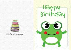 birthday cards to print printable birthday card free birthday cards free