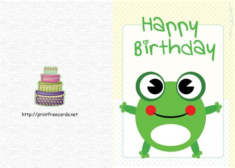 free printable birthday note cards printable birthday card free birthday cards free