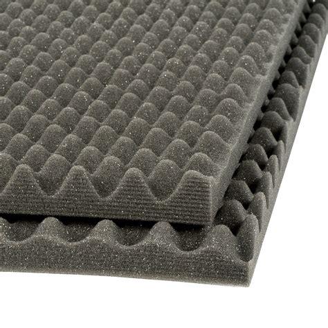 decor geluidsisolatie platen decor geluidsisolatieplaat zwart 100x50x3 cm 2 stuks