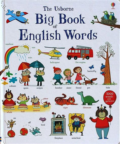 aliexpress in english 1 pcs big book of english words word learning board book