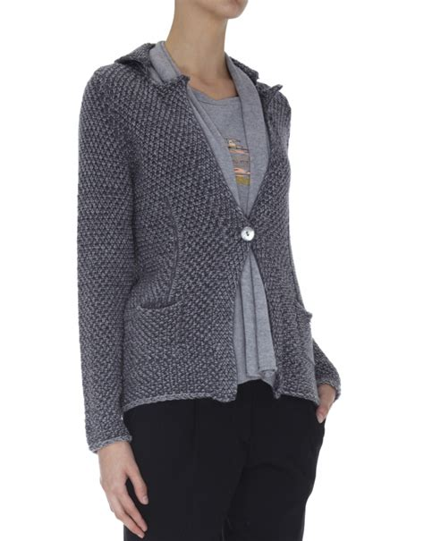 grey knit blazer gray knit blazer