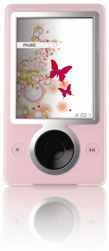 A More Pleasing Pink Zune by Pink Zune Available On Tech Ticker