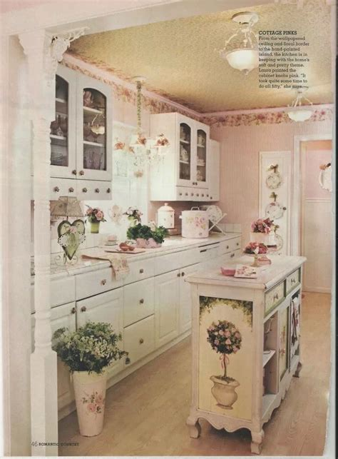 shabby chic kitchen shabby chic decor