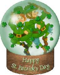leprechaun shamrock and pot of gold moving clip animations