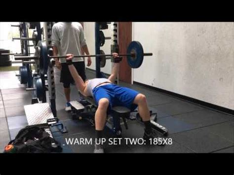 1 rm bench press 1 rep max bench press youtube