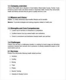Spa Business Plan Template by Spa Salon Business Plan Template 7 Free Sle