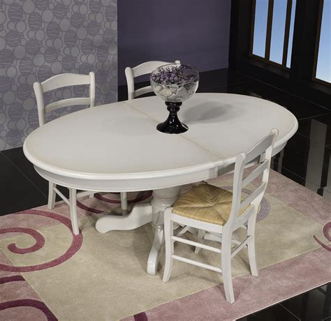 table pied central table ovale pied central delphine en merisier massif de