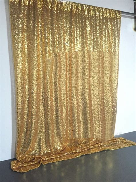 Wedding Backdrop Cloth by 4ft X6ft Gold Sequin Photo Backdrop Wedding Booth