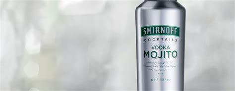 mojito cocktail vodka smirnoff 174 vodka mojito ready to drink smirnoff