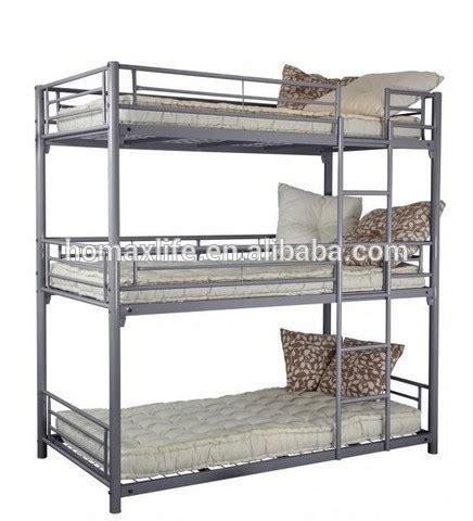 three tier bunk bed 999 190 50 metal bedroom furniture bed frame 3 tier bed