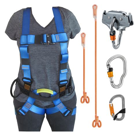 Fulbody Harnes complete zipline kit with harness and pulley