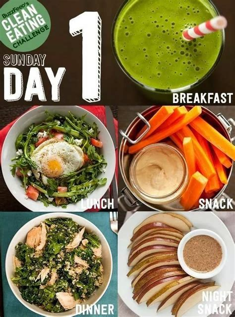 Detox Breakfast Menu by Take Buzzfeed S Clean Challenge Feel Like A