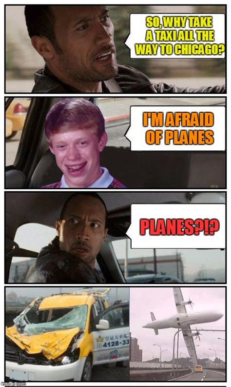 Taxi Meme - the rock driving disaster taxi based on a true story