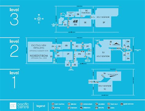 pacific mall floor plan pacific centre cfshops located in vancouver british