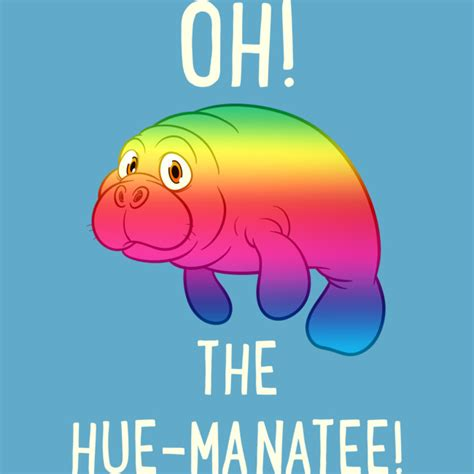oh the hue manatee t shirt by starfall design by humans