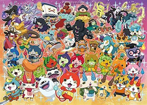 theme line youkai watch yo kai watch jigsaw puzzle yo kai world 300 pieces