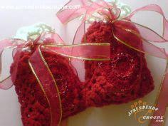 Blouse El O Vee bolsitas souvenir crochet recuerdos