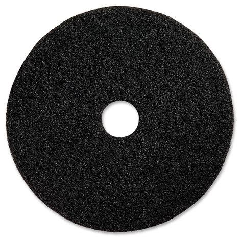 genuine joe   black advanced design black floor pad