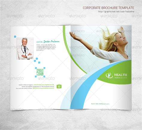 health care brochure template 25 best health templates ready to print