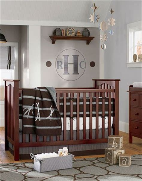 Grey Brown Crib 1000 Images About Nursery Ideas On Boys Side