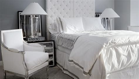black white silver bedroom lake road megan winters
