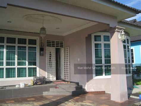 rumah banglo baru kelantan rumah banglo di kg kutan wakaf bharu kelantan wakaf