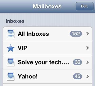 Search Email Iphone 5 How To Search Email On The Iphone 5 Solve Your Tech