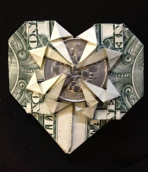 Money Origami With Quarter - the world s catalog of ideas