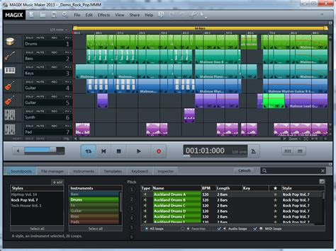 house music creator magix music maker 2013 gains new sounds updated ui and better performance from
