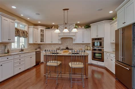 u shaped kitchen island magnetic u shaped kitchen with island designs and 3 pendant light fixture from wrought iron also