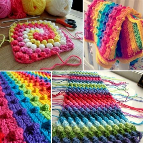 new idea crochet how to make a puff stitch blanket diy cozy home