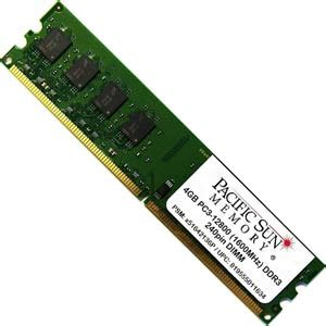 Ram Ddr3 Sun upc 819555011634 pacific sun memory 4gb ddr3 pc3 12800 desktop memory upgrade x51642136p 000
