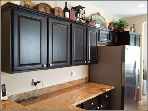 refinishing oak kitchen cabinets ghanko com kitchen cabinets color ideas with oak small clipgoo