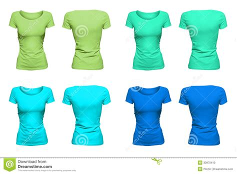 colorful aquamarine t shirts stock photo image 30970410