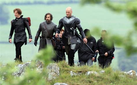 New Slayer Cardy ewen bremner pictures filming continues on the