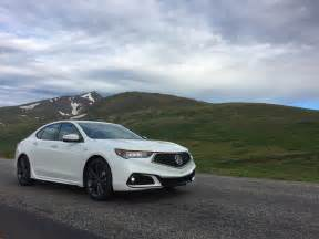 acura tlx specs 2018 acura tlx a spec rocky mtn real world test review