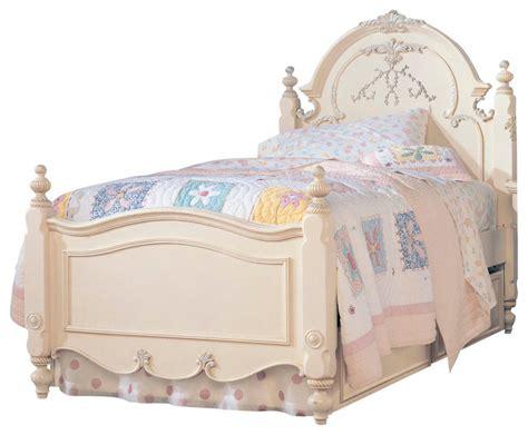 lea jessica mcclintock vintage panel bedroom collection lea jessica mcclintock panel bed in antique white twin