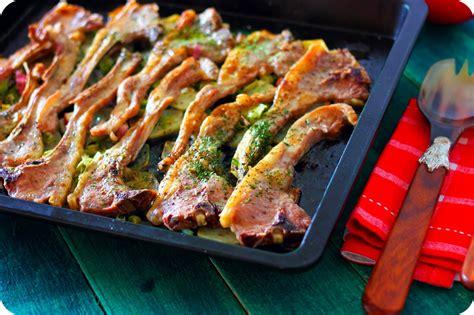 recetas de cocina cordero al horno chuletillas de cordero al horno receta paso a paso