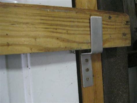 Door Barricade Hardware by Drop Open Bar Security Door Lock Brackets Fits 2x4 Boards