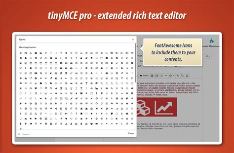 design pro font editor tinymce pro extended rich text editor for prestashop