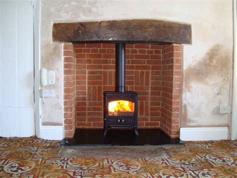 Reclaimed Brick Fireplace by Andy Yates Fitting Services 100 Feedback Chimney