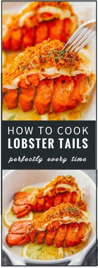 learn how to cook lobster tails with lemon garlic butter