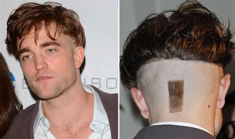 Robert Pattinson MOST RIDICULOUS haircut: Twilight star ops for tuft of hair on neck   Celebrity