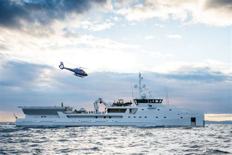 yacht game damen redelivers 69m customised expedition yacht game