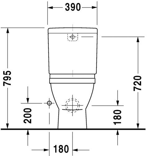 Afmetingen Staand Toilet by Starck 3 Staand Toilet 012609 Duravit