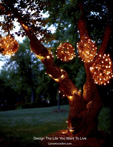 Lighted Spheres Outdoor Diy Grapevine Lighting Balls What A Bright Idea Design The You Want To Live