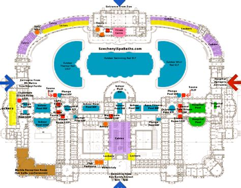 Bath Floor Plan by Faq Szechenyi Baths